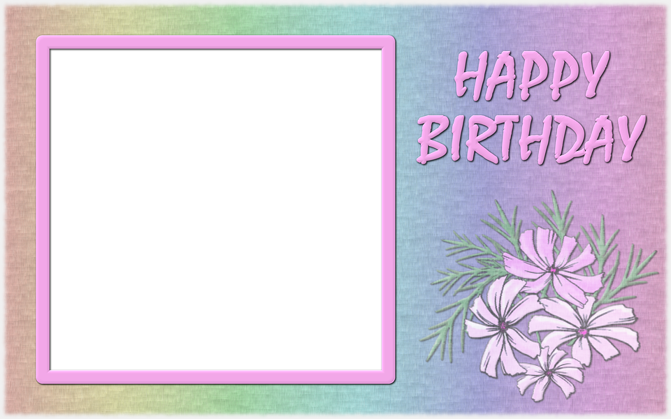 Photo Frame Birthday Free Image On Pixabay