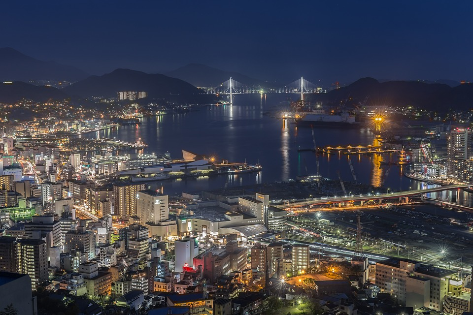 夜景 長崎 日本 Pixabayの無料写真