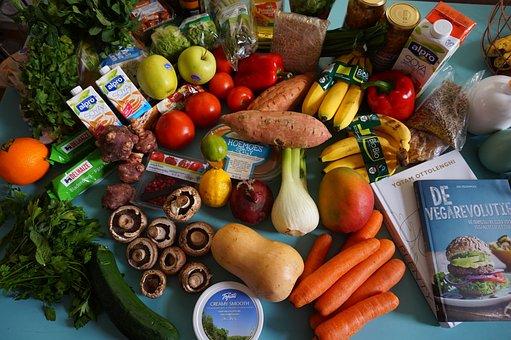 食料品, フルーツ, 菜食主義者, 大豆, 食品, 新鮮な, ダイエット