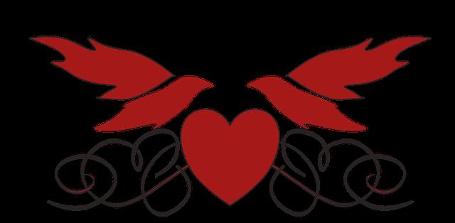 Free illustration: Heart, Doves, Love, Romance - Free ...