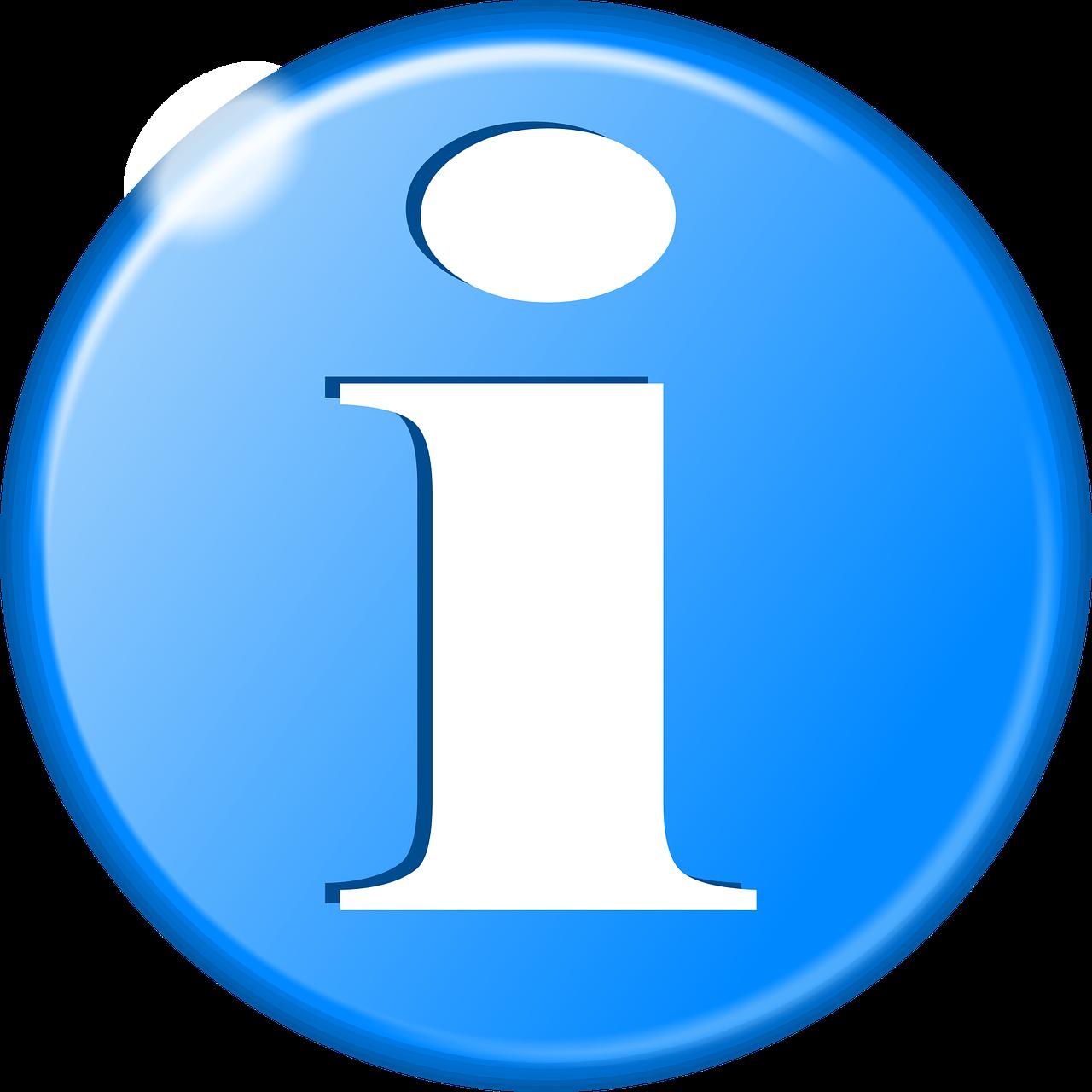 Info Symbol Information - Free image on Pixabay