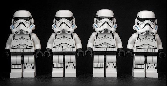Stormtrooper, Star Wars, Lego, Storm