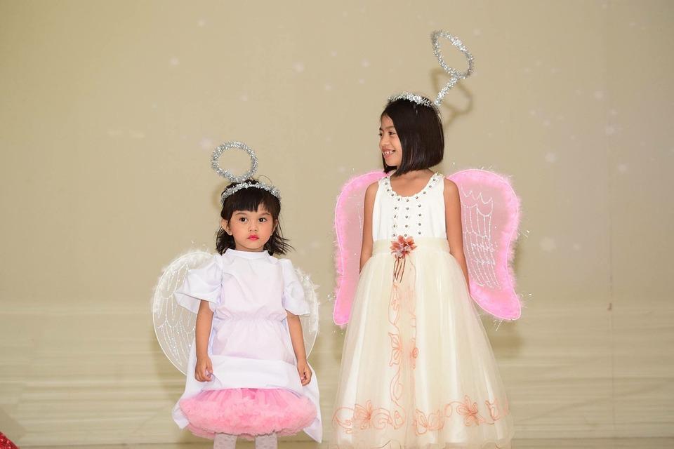 angel cute halo kids boys costume performance