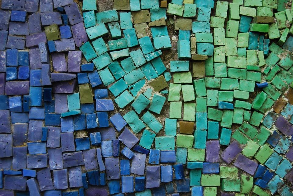 Groene Mozaiek Tegels : Mozaïek blauw groene · gratis foto op pixabay