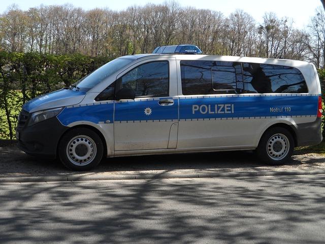 Kostenloses Foto Polizeiauto Polizei Blau Wei 223