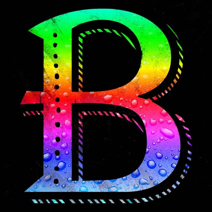 Free Illustration Letter Alphabet Abc B Colorful
