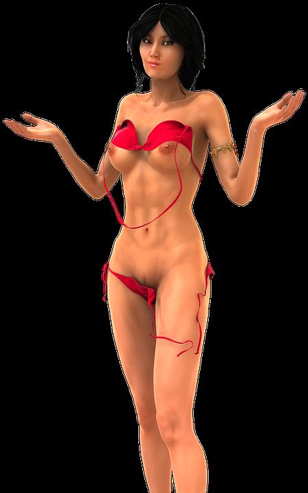 Sexig Kvinna