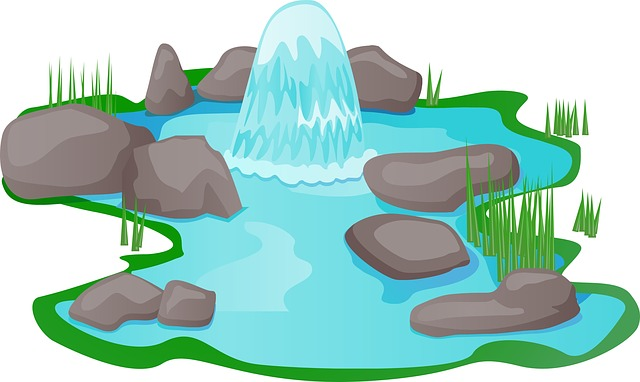 Water Pond Clipart