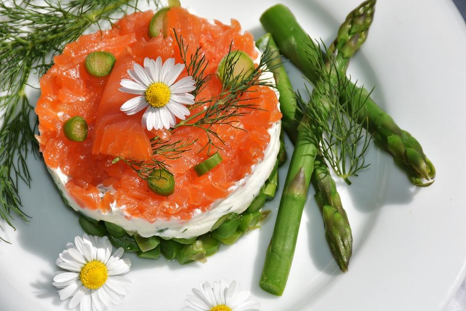 Asparagi Verdi, Antipasto, Carciofo, Salmone