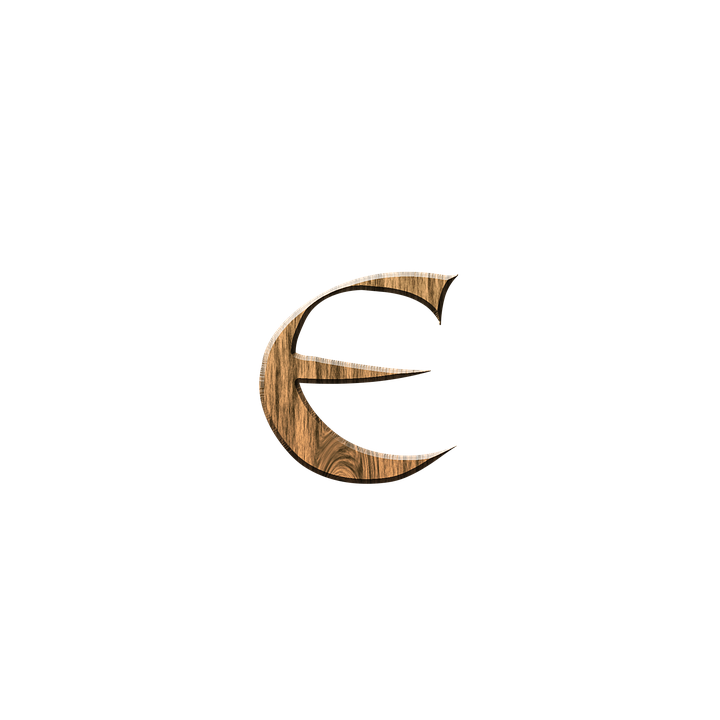 Wooden E Letter Free Image On Pixabay