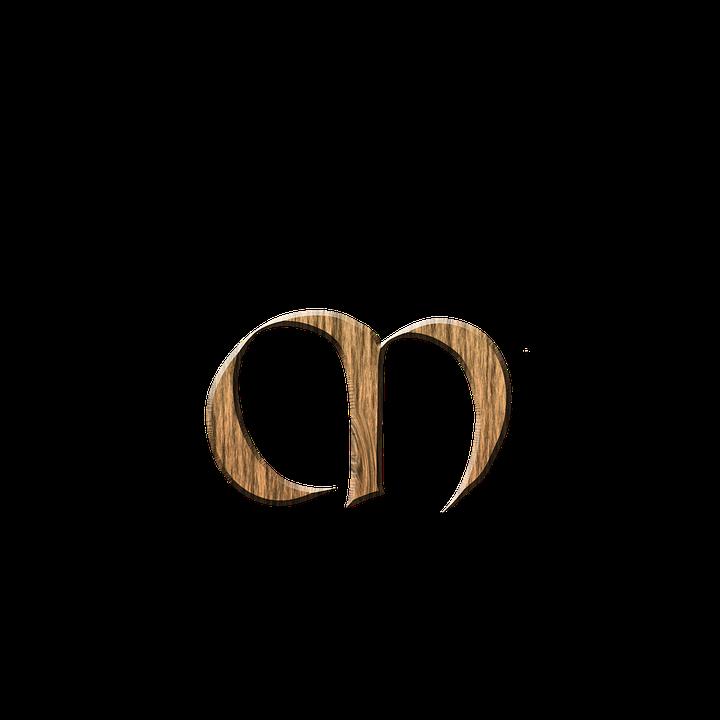 graphic about M&m Printable Coupons named M Kayu Surat Huruf - Gambar gratis di Pixabay