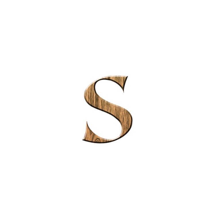 Wooden S Letter · Free image on Pixabay