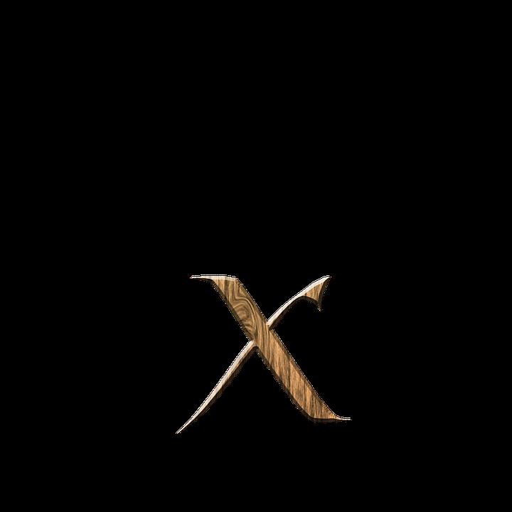 X Din Lemn Scrisoare Litera Imagine Gratuită Pe Pixabay