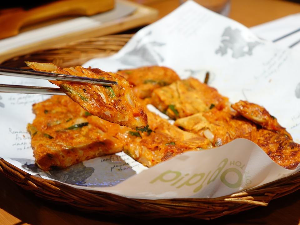 Free photo: Kimchi Pizza, Korean, Spicy - Free Image on ...
