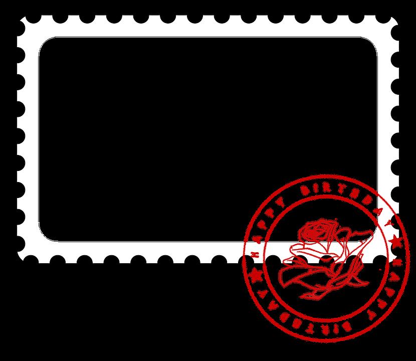 Photo Frame Postage Stamp Birthday Free Image On Pixabay