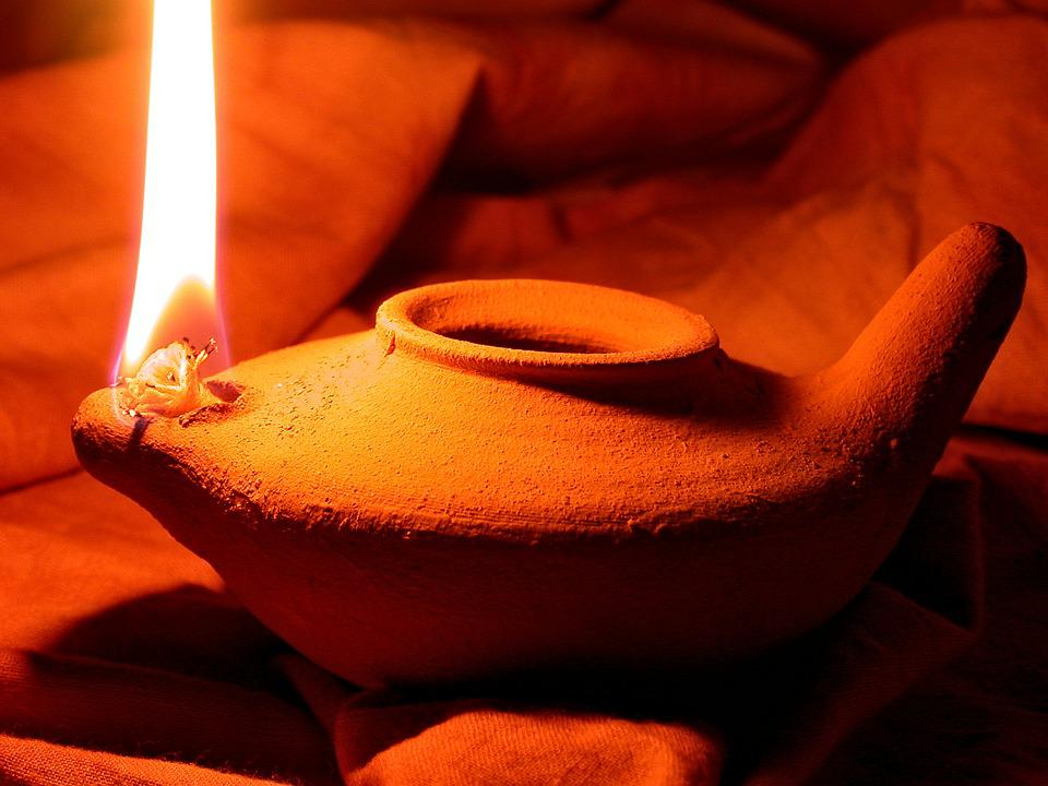 Free photo: Oil Lamp, Clay Pot, Light, Pottery - Free Image on ...