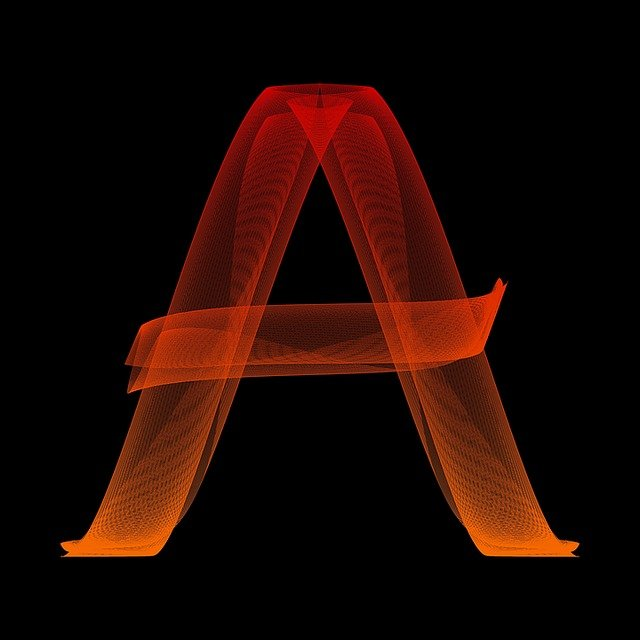 letter a particles  u00b7 free image on pixabay