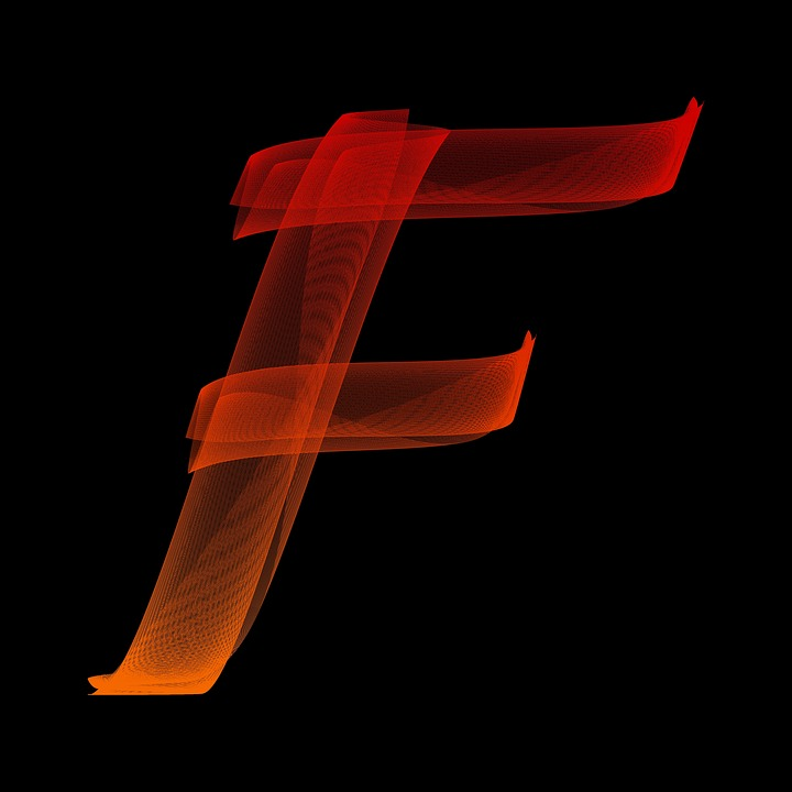Letter F Particles Free Image On Pixabay