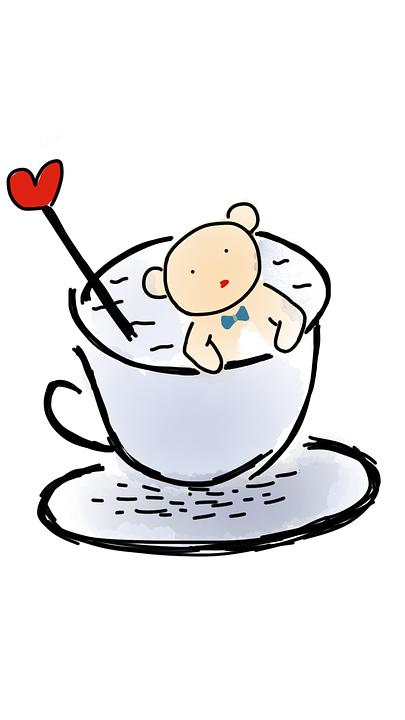 Boneka Beruang Dalam Cangkir Piala Gambar Gratis Di Pixabay