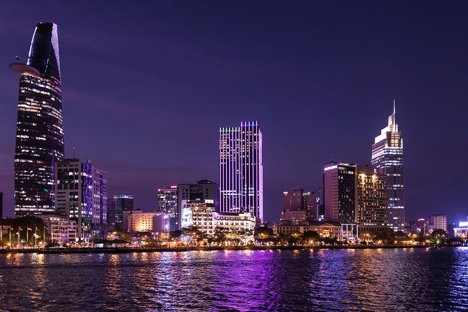 Ho Chi Minh City, Сайгон, Хо-Хошимин, Виетнам, City