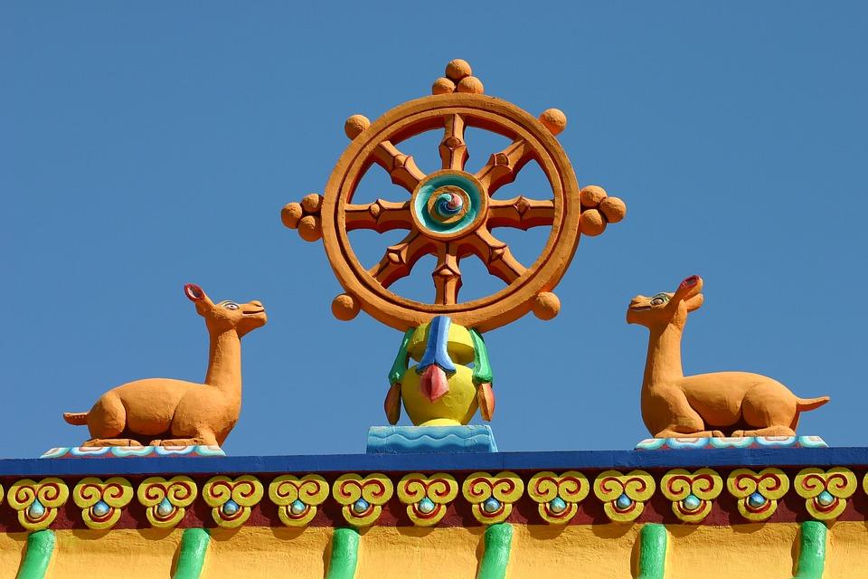 Boeddhisme, Spiritualiteit, Meditatie, Dharma Wielen