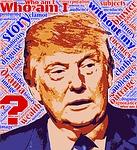 trump, facade, identity