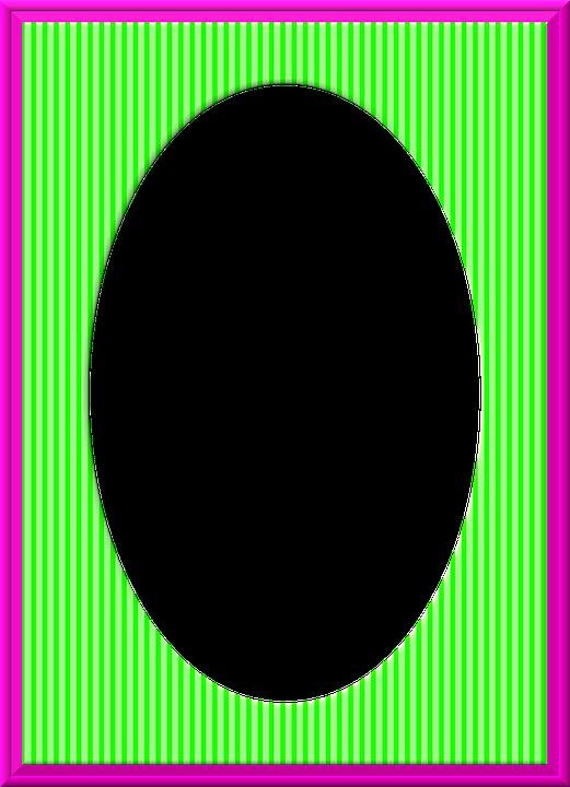 Marco De Fotos Oval Material · Imagen gratis en Pixabay