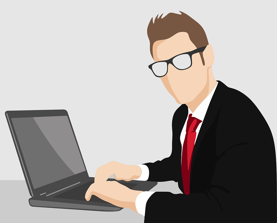 Człowiek, Biznesu, Edukacyjny Film Animowany, Biznesmen
