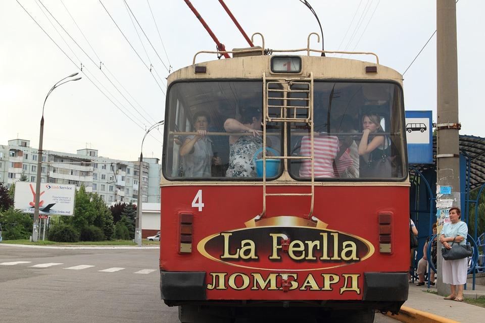 Bus, Moldawien