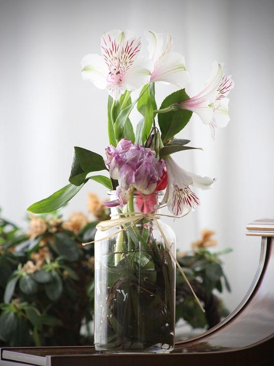 Flowers, Vase, Desktop, Bodegones, Still Life