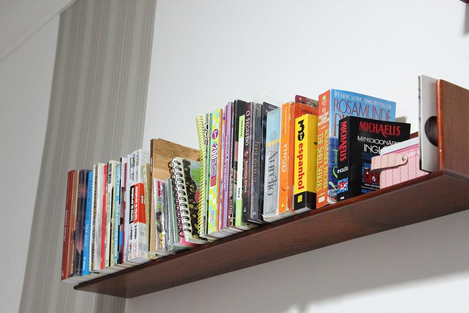 Boekenplank Met Boeken.Boekenplank Boeken Organisatie Gratis Foto Op Pixabay