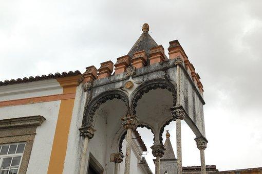 Portugal, Evora, Street, Arch