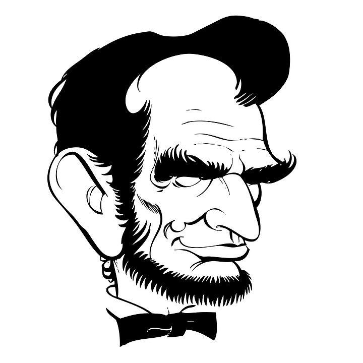 Abraham Lincoln Caricature Line Free Image On Pixabay