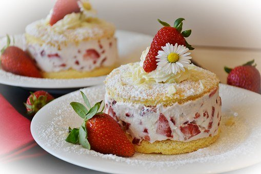 Strawberries, Strawberry Shortcake