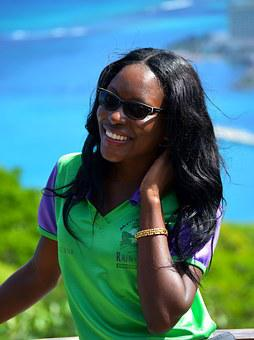 Jamaica, Island, Woman, Black Skin