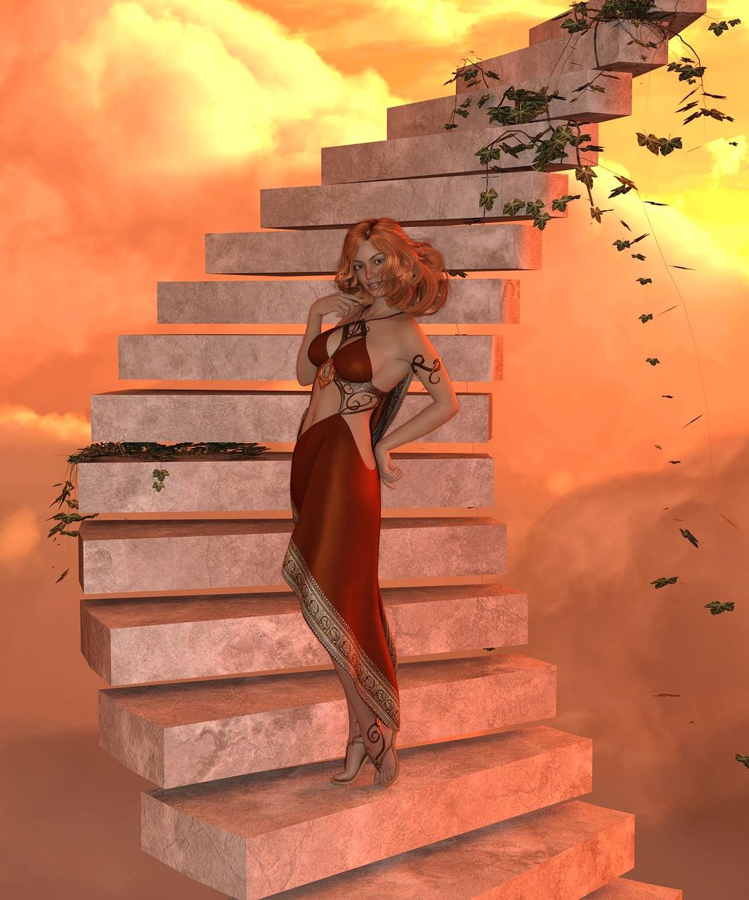 Лестница любви картинки