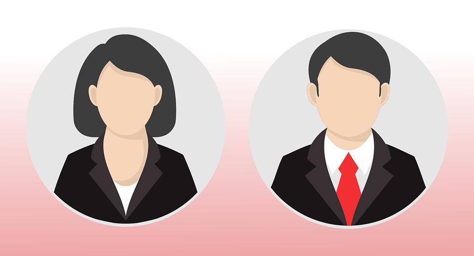Male Female Icon Free Vector Graphic On Pixabay