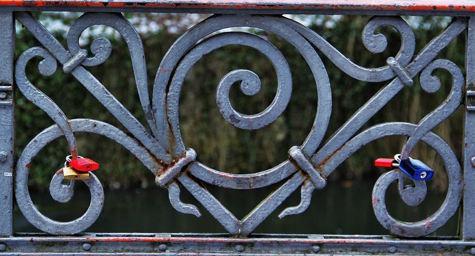 Love Locks Railing Symbol Free Photo On Pixabay
