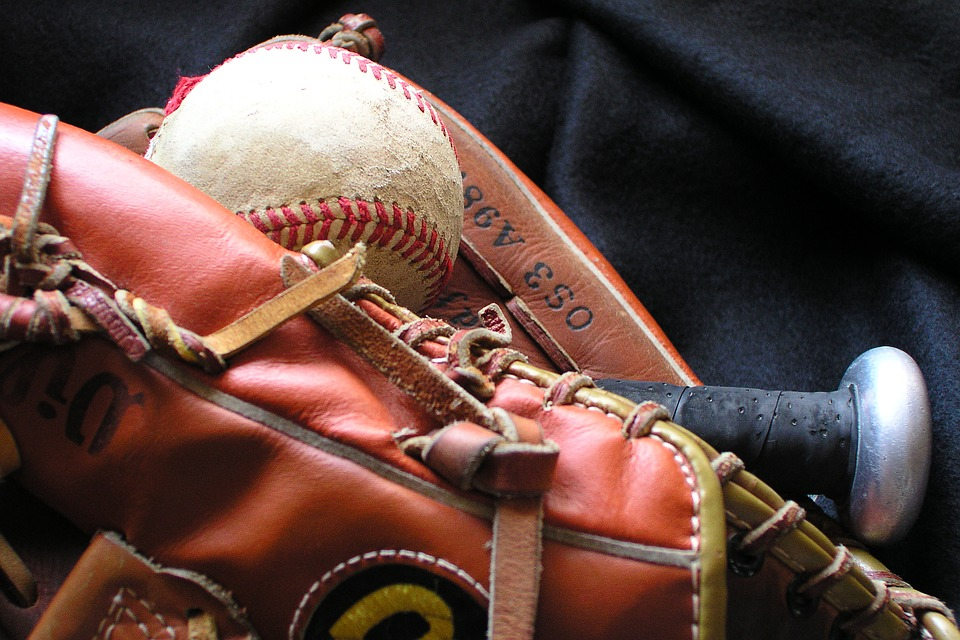Baseball, Baseball Mit, Glove, Ball, Sport, Softball