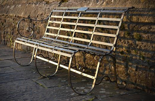 Bench, Metal, Old, Outdoor, Furniture - Outdoor Furniture Images · Pixabay · Download Free Pictures