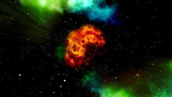 Bola De Fuego, Asteroide, Explosión