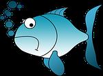 goldfish, fish, sad