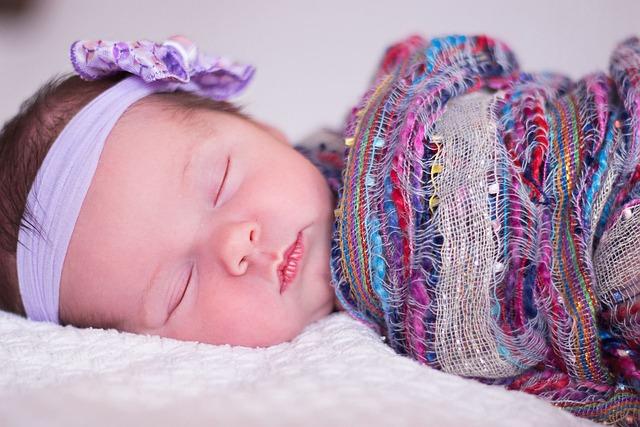 Baby Sleeping Girl Free Photo On Pixabay