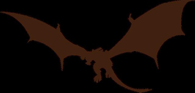 Dragon Silhouette Monster · Free image on Pixabay