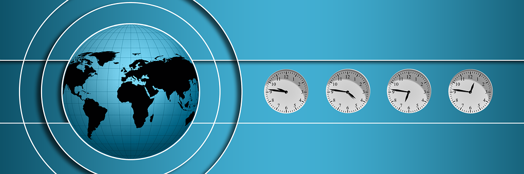 Logo, Globe, Time, Time Of, World Time
