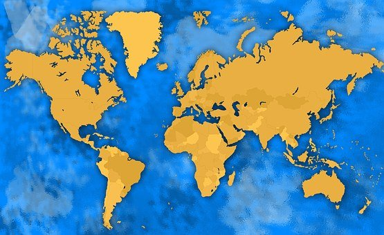 1,000+ World Map Images [HD] - Pixabay - Pixabay