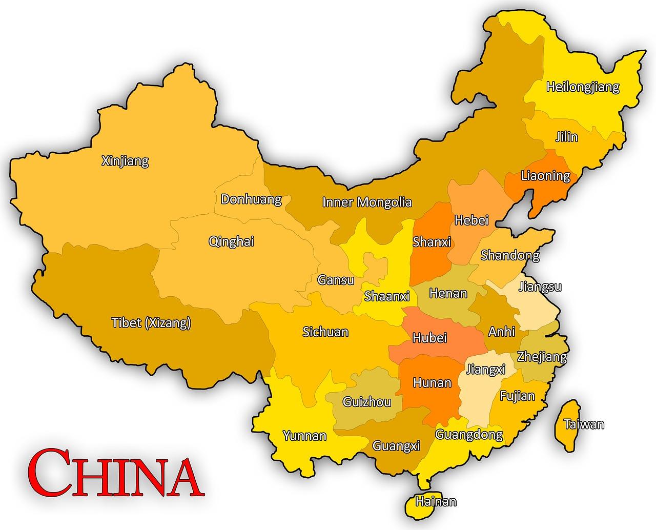 Kiina Kartta Maailman Ilmainen Kuva Pixabayssa