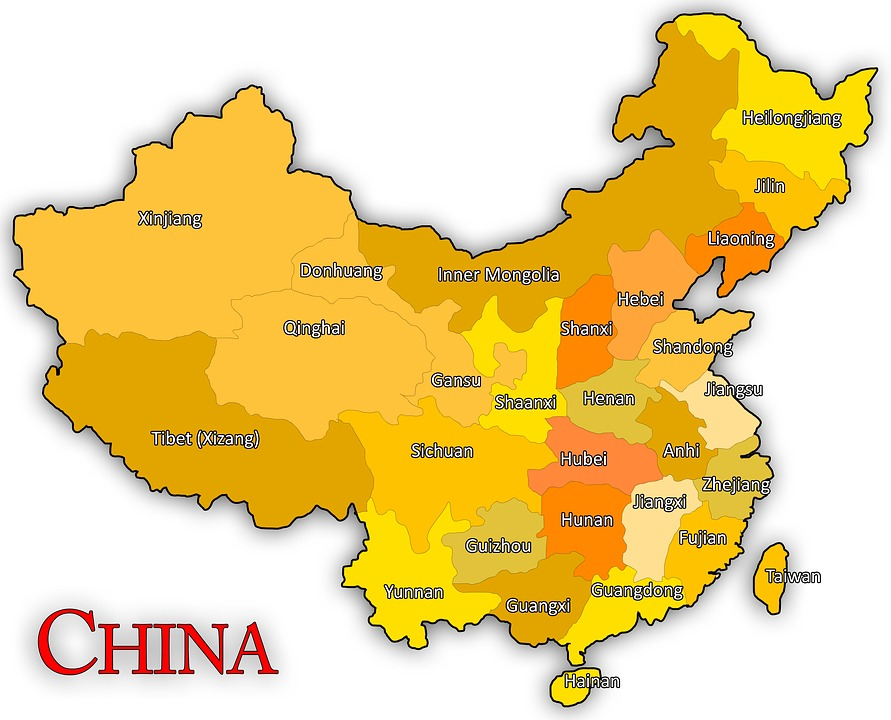 Image Of China Map.China Map Chinese Free Image On Pixabay