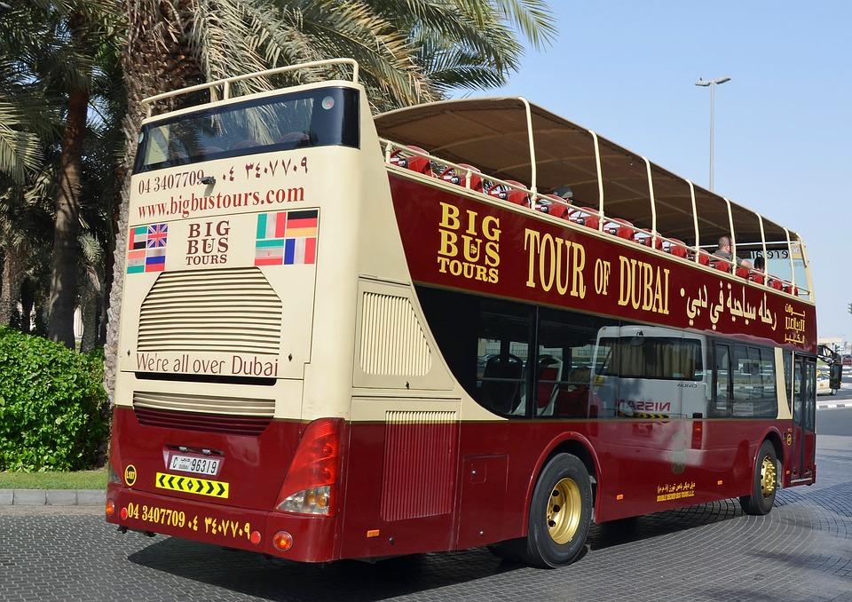 Dubai hop-on-hop-off bus tour