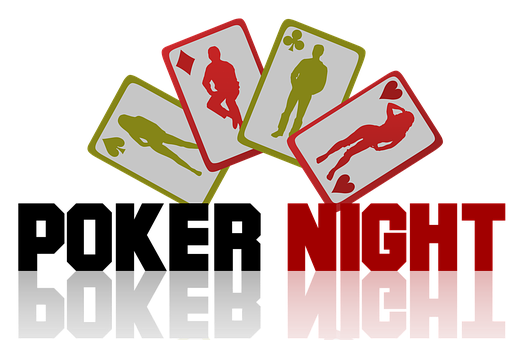 Poker, Night, Sign, Cards, Play, Fun